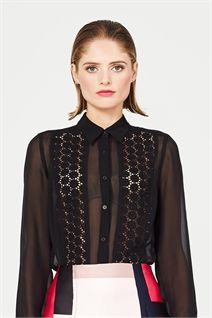 Search : Trelise Cooper Online - cat b Daisy, Shirt Blouses, Shirts, Catsuit, Modern Fashion, Bra Tops, Style Icons, Glamour, Lingerie