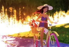 Adelaide goes for a stroll by PascalCampion.deviantart.com on @deviantART