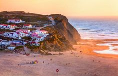 Monte Clérigo beach, Aljezur. Peaceful beaches and small vilages near the ocean all over the #Alentejo coastline #Portugal