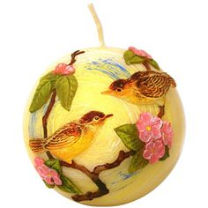 Unique Decorative Candles | Home :: Decorative Candles :: Birds Decorative Ball Candle :: Reviews