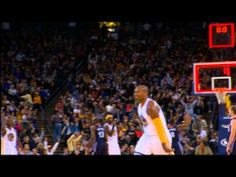 Marreese Speights Nails the 45-Footer to Beat the Buzzer! 5 th best 3 pt shooter on team