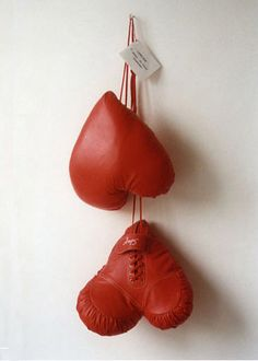 heart boxing gloves - for those rare times when your love gets on your last nerve :)