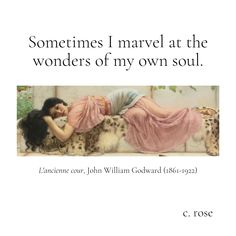 © C. Rose John William Godward, My Poetry, How Beautiful, Proverbs, Marvel, Rose, Art, Art Background, Pink