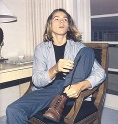 river phoenix long hair - Szukaj w Google