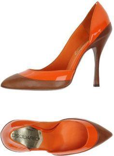 DSquared² Stilettos and high heels for Women Dali, Hot Shoes, Shoes Heels, Orange Pumps, Blue Suede Shoes, Louboutin, Pretty Shoes, Womens High Heels, Dsquared2