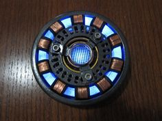 Iron Man Arc Reactor, DIY Wearable by MegaManSolid