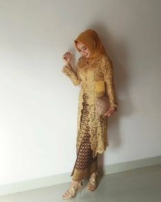 Kebaya Lace, Kebaya Hijab, Kebaya Brokat, Kebaya Dress, Kebaya Muslim, Muslim Dress, Muslim Fashion, Hijab Fashion, Fashion Outfits