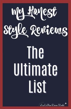 LulaRoe Style Reviews | I enjoy writing an honest review of new styles so that you know all the details on fit, fabric, any special washing directions, and maybe even some styling tips. To make this page a little easier to navigate, I've put all of the reviews as links below.