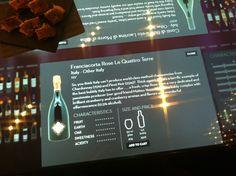 Le Quattro Terre Franciacorta Rosé @ AMO ENO Wine Bar + Shop in Hong Kong. www.quattroterre.it