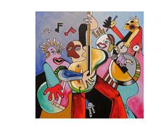 MUSIC  Gicle Abstract Print Abstract Painting #art #print #giclee @EtsyMktgTool http://etsy.me/2ijl9aI