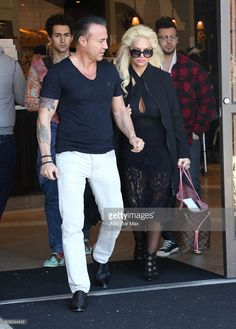 Ron Marinari and Patti Marinari are seen on February 3, 2016 Los Angeles, CA.