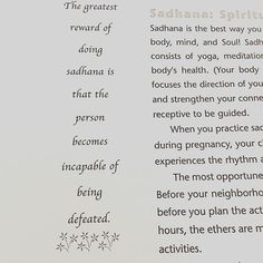 Sadhana is your daily personal spiritual practice. For me that involves meditation as a minimum (often a full Kundalini yoga set) plus a range of other contemplative practices like morning pages gratitudes and inspirational reading. What is your daily spi #yogameditation #whatiskundaliniyoga