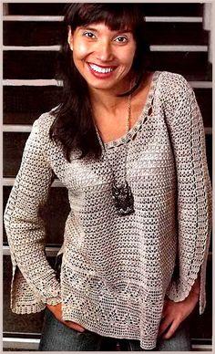 blusas y suéteres gancho | Entradas en categoría blusas y suéteres Hook | Blog Irimed: LiveInternet - Servicio ruso diarios online