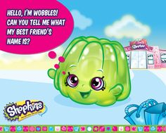 Can you guess who Wobble's BFF is? Find the answer on ShopkinsWorld.com. #Shopkins #Toy