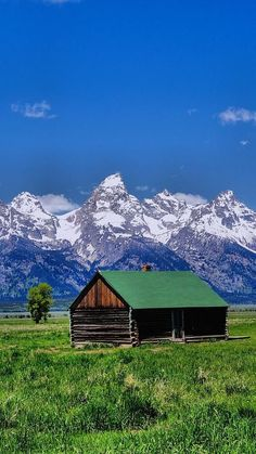 Grand Teton National Park, Jackson Hole. Cabin In The Mountains, close to heaven!