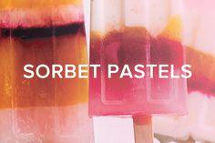 sorbet pastels