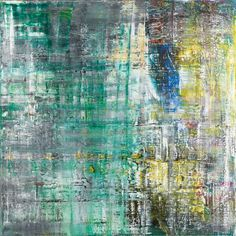 """""""That's roughly how Cage put it: 'I have nothing to say and I am saying it.' I have always thought that was a wonderful quote. It's the best chance we have to be able to keep on going."""" (Gerhard Richter, Interview with Jan Thorn-Prikker, 2004)"""