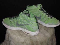 Men's Nike Lunar FlyKnit Chukka Sneakers Sz 10 Mint/Gray 2013  554969 011 #Nike #sneakerhead #kicks #shoefie
