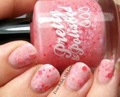 Pretty & Polished It's a Girl Thing Color Changer Polish when warm