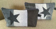 Gemaakt van 4 verschillende oude spijkerbroeken.