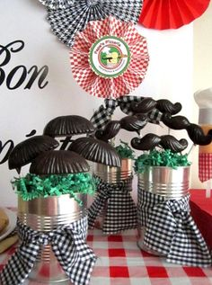 Pappa's Pizzeria Mustache Pizza Party - Kara's Party Ideas - The Place for All Things Party