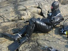 Heavy Rubber, Catsuit, Diving, Latex, Leather Pants, Surfers, Girls, Scuba Diving Suit, Overalls
