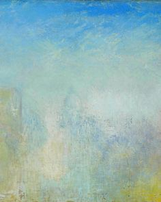 Joseph Mallord William Turner - Venice with the Salute Joseph Mallord William Turner, Seascape Paintings, Landscape Paintings, Landscapes, Abstract Landscape, Abstract Art, Turner Watercolors, Turner Painting, Encaustic Art