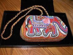 Mary Frances Designer Beaded Purse Handbag #MaryFrances #ShoulderBag Mary Frances Handbags, Beaded Purses, Purses And Handbags, Bling, Shoulder Bag, Design, Art, Art Background, Jewel