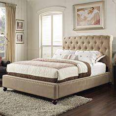 Stanton Upholstered King Bed by Standard Furniture