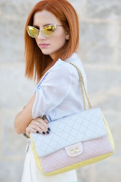Chanel in pastel colours