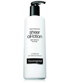 Love this! Light, absorbs easily, smells light and fresh.