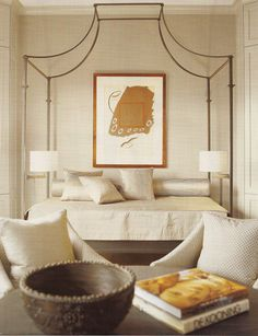 Nancy Braithwaite design Neutral bedroom. So serene. #bedroom #neutral interior