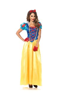 Classic Snow White Adult Womens Costume - 346907
