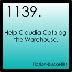 Now that's what I need - a fiction bucketlist! I am already writing it in my mind...