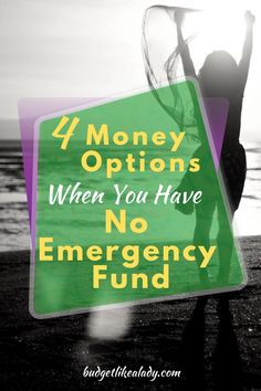 4 Money Options When You Have No Emergency Fund. how to save an emergency fund. How to make money fast. no income living. no income money. no income posts. need money now ideas. need money now extra cash. need money now tips. need money now posts. Money Tips, Money Saving Tips, Managing Money, Earn More Money, Make Money Fast, Need Money Now, Cash Now, Thing 1, Financial Success