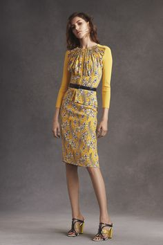 #undershirt-worthy! RESORT 2016 OSCAR DE LA RENTA COLLECTION
