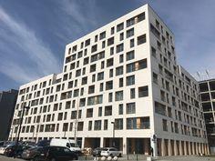 19 Dzielnica, Warsaw, Poland JEMS ARCHITEKCI EQUITONE [tectiva]