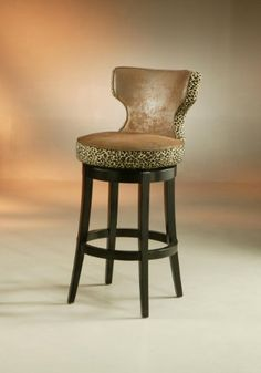 Augusta Counter Stool Wrangler with Leopard ** Click image for more details.