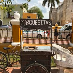 Exploring a little corner of Mexico. #Valladolid #Square #Colour #Rustic #Sunny #Yucatan #Instagood #City #Afternoon #Bike #Dessert #Holiday #Tourist #Travel #Hot http://tipsrazzi.com/ipost/1516056272200688679/?code=BUKHSWsBmQn