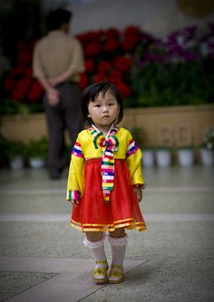 A girl from North Korea