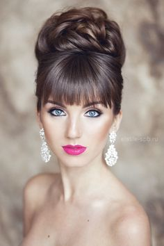 Inspiration coiffure mariée | www.makeupartist.fr