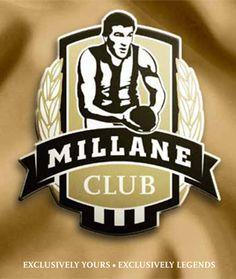 Millane Club logo designed for the Collingwood Football Club Collingwood Football Club, Magpie, Logo, Collection, Design, Logos, Eurasian Magpie, Environmental Print