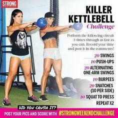 STRONG kettlebell challenge