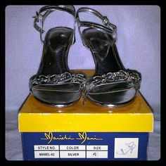 Marichi Mani Wedding Shoes 3 inch heels In original box marichi mani Shoes Heels