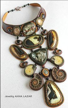 Beautiful jewelry with ammonite fossils | Beads Magic