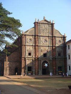 Portuguese colonial church Kochin & Goa, India