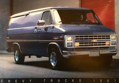 Chevy Van 1987