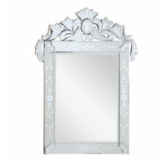 """View the Elegant Lighting MR-2015 48"""" Wide Mirror from the Venetian Collection at Build.com."""