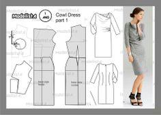 Cowl dress part 1