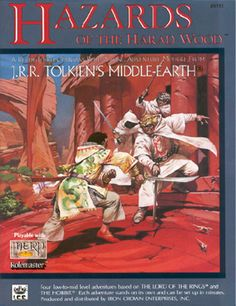 Product Line: Middle Earth Roleplaying  Product Edition: M1  Product Name: Hazards of the Harad Wood  Product Type: Ready-to-Run Adventure Mo  Author: John Crowdis  Stock #: 8112  ISBN: 1-55806-096-0  Publisher: ICE  Cover Price: $6.00  Page Count: 32  Format: Softcover  Release Date: 1990  Language: English